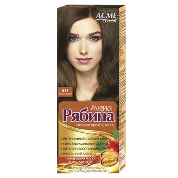 Краска для волос Acme Рябина 015 Темно-русый