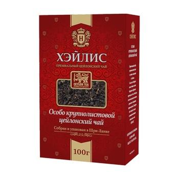 Чай Hyleys черный крупнолистовой 100г - купить, цены на СитиМаркет - фото 1