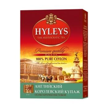 Чай Хейлиз Английский королевский купаж черный крупнолистовой 100г