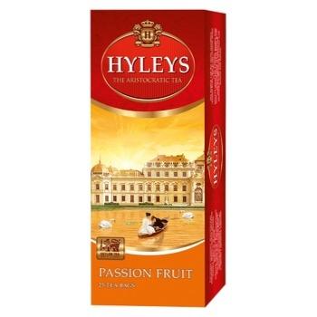 Чай Хейлиз черный плод страсти 1,5г х 25шт - купить, цены на Novus - фото 1
