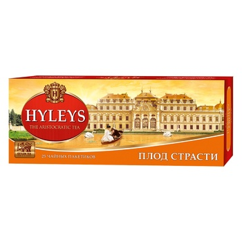 Чай Хейлиз черный плод страсти 1,5г х 25шт - купить, цены на Novus - фото 2
