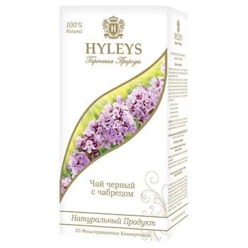 Tea Hyleys black 25pcs 37.5g - buy, prices for MegaMarket - image 1
