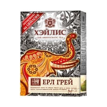 Чай чорний Hyleys Ерл Грей листовий з бергамотом 90г - купити, ціни на МегаМаркет - фото 1
