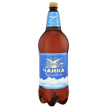 Chayka Dniprovska Light Beer 4.8% 2l - buy, prices for CityMarket - photo 1