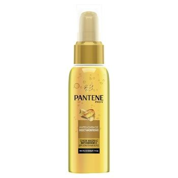 Масло для волос Pantene Pro-V Интенсивное восстановление 100мл