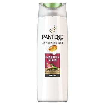Шампунь Pantene Pro-V Очищение и питание 400мл - купить, цены на МегаМаркет - фото 1