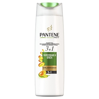 Pantene Pro-V 3in1 Nature Fusion Strengthening and Shine Shampoo and Balsam-Conditioner 360ml - buy, prices for Auchan - photo 1