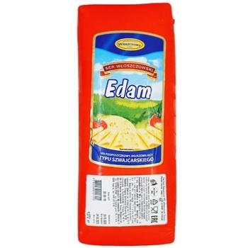 Сыр Wloszczowski Эдам 45% - купить, цены на Ашан - фото 2