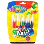 Colorino kids Set of Water Brushes with Paint 5pcs