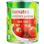 Auchan Tomatoes Canned Peeled 476g