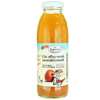 Karpaty nasolodzhuysya Apple Juice 300ml - buy, prices for Auchan - photo 1