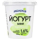 Йогурт Молокія білий густий 1,6% 330г
