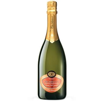 Вино ігристе Col Mesian Prosecco біле екстрасухе 11% 0,75л - купити, ціни на CітіМаркет - фото 1