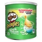 Чипсы Pringles Сметана и лук 40г