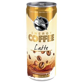 HELL Latte Cold Coffee 250ml - buy, prices for MegaMarket - image 1