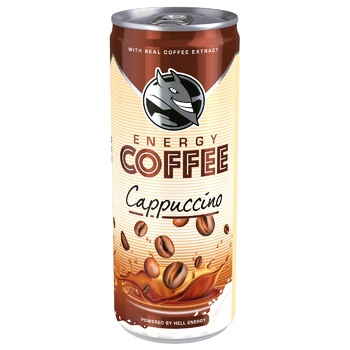 HELL Cappuccino Cold Coffee 250ml - buy, prices for MegaMarket - image 1