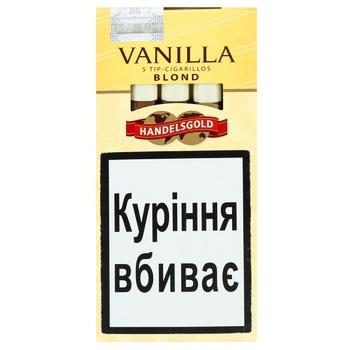 Сигары Handelsgold Tip-Cigarillos Vanilla - купить, цены на Фуршет - фото 1