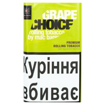 Mac Baren Grape choice Tobacco 40g - buy, prices for CityMarket - photo 1
