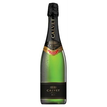 Calvet Cremant de Bordeaux White Brut white dry wine 10,5% 0,75l - buy, prices for CityMarket - photo 1