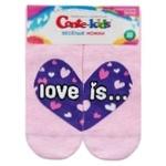Шкарпетки Conte-kids Веселі Ніжки дитячі світло-рожеві 22р