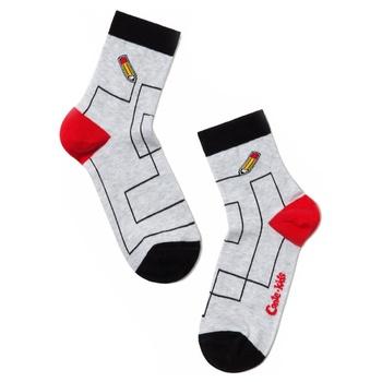 Conte-kids Tip-Top Cotton Light Gray Children's Socks 22s