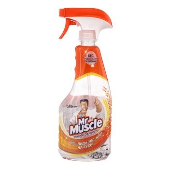 Засіб чистячий для кухні кімнати Mr.Muscle Нічого зайвого 500мл - купити, ціни на Novus - фото 1