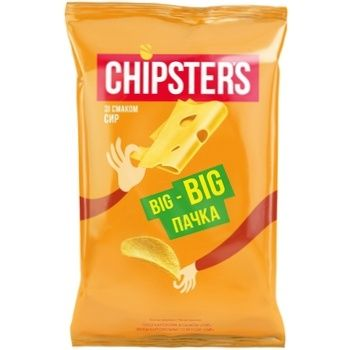Chipsters Chips Cheese Flavor 180g