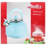 Чайник Martex блакитний 2,5л
