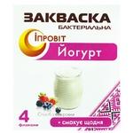 Закваска бактериальная Ипровит Йогурт 4*0,5г