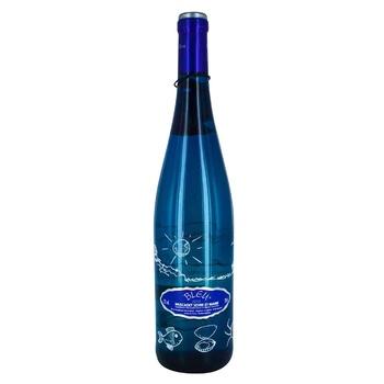 Вино Bleu Muscadet Sevre et Maine белое сухое 12% 750мл - купить, цены на Novus - фото 1
