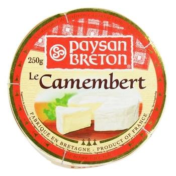 Сыр Paysan Breton Камамбер 45% 250г