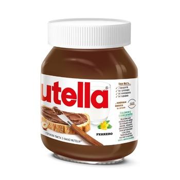 Ореховая паста с какао Nutella 350г - купить, цены на Метро - фото 2
