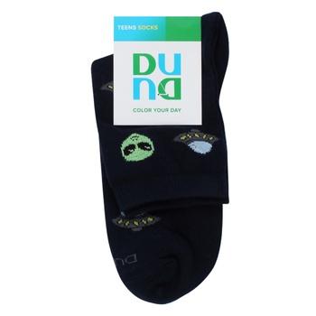 Шкарпетки дитячі демісезонні Duna 4273 розмір 22-24 темно-синій - купити, ціни на Novus - фото 1