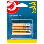 Батарейка Ашан щелочная LR06 2шт