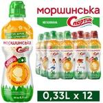 Вода Моршинская спортик негазированная 0,33л