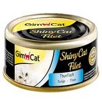 Корм Gimborn Shiny Cat Filet тунець для котів 70г