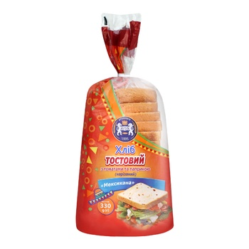 Хліб Кулиничі Мексикана тостовий 330г - купити, ціни на CітіМаркет - фото 1