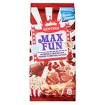 Шоколад Корона Max Fun молочний з мармеладом зі смаком коли, попкорном і вибуховою карамеллю 160г