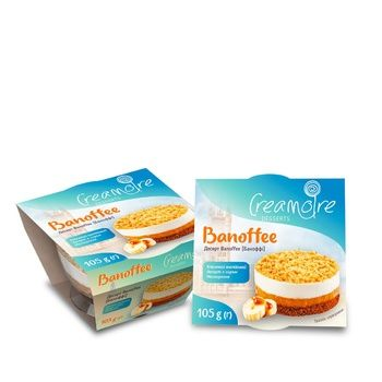 Десерт Creamoire Banoffee с сыром Маскарпоне 105г