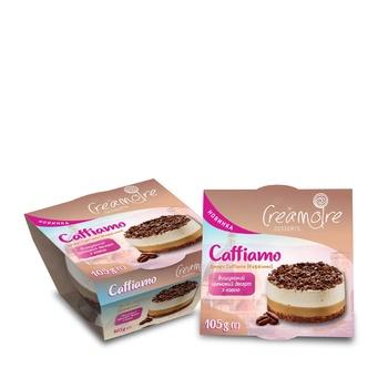 Десерт Creamoire Каффіамо 105г - купити, ціни на Ашан - фото 1