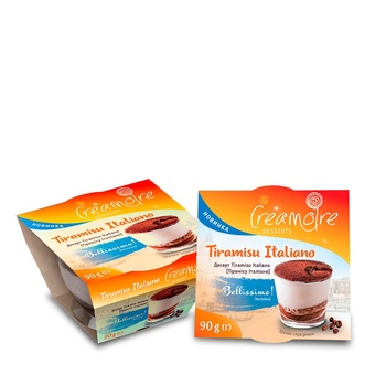 Creamoire Tiramisu Italiano Dessert 90g - buy, prices for MegaMarket - image 1
