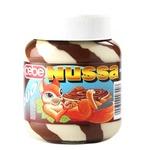 Крем Nussa Duo шоколадний з горіхами 400г