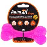 Игрушка AnimAll Fun кость для собак фиолетовая 12см