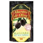 Маслини Maestro de Oliva без кісточки 170г - купити, ціни на Фуршет - фото 1