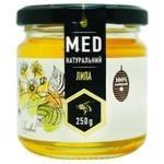 Мед липовий натуральний 250г