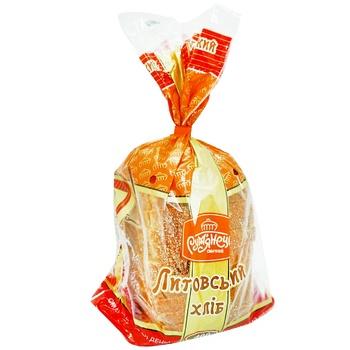 Хлеб Румянец Литовский нарезанный 400г - купить, цены на Метро - фото 1