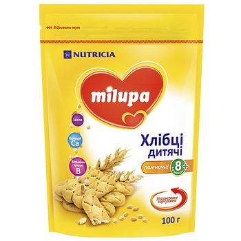 Хлебцы Milupa Nutricia пшеничные детские 100г - купить, цены на Восторг - фото 1