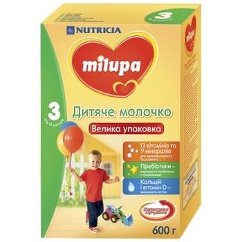 Смесь молочная сухая Milupa 3 600г