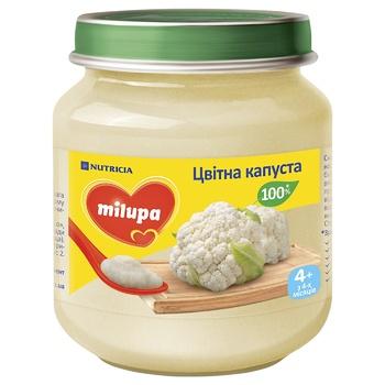 Пюре овощное Milupa Цветная капуста 125г