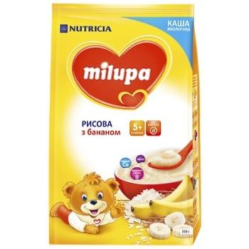 Каша Milupa молочная рисовая с бананом 210г